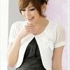 เสื้อกั๊กชีฟอง สีขาว XL 2XL 3XL