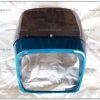 หน้ากาก+บังไมล์ RXS สีฟ้าบรอนซ์