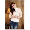 เสื้อคลุมแขนยาว สีชมพู (XL,2XL,XL) JK•601