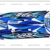 สติ๊กเกอร์ CLICK COMBI BRAKE ปี 2007 รุ่น 4 ติดรถสีน้ำเงิน