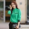 เสื้อชีฟองไซส์ใหญ่ สีเขียว/สีดำ/สีเหลือง (XL,2XL,3XL)
