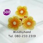 แท่ง Polymer Clay รูปดอกไม้ ลาย 508