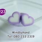 แท่ง Polymer Clay รูปหัวใจ ลาย 223