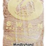 เชือกร่มดิ้นทอง ตราหงส์ สวอน (ตราหงส์) 301 สีขาว