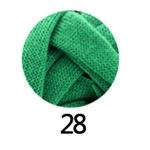ไหมผ้ายืด (T-Shirt) เกรด A รหัสสี 28 สีเขียว