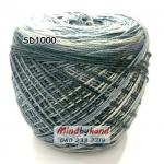 ไหมพรมเส้นอ้วน สีเหลือบ SD1000