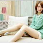 ♡♡Pre Order♡♡ เสื้อสเวตเตอร์แขนยาว (Sweater) คอกลม ถักลายเก๋ๆ ผ้าเนื้อดี สวมใส่สบาย เหมาะกับใส่ในห้องแอร์ น่ารักๆ ค่ะ