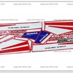 สติ๊กเกอร์ NOVA-RS ปี 90 ติดรถสีแดง