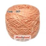 ไหมเบบี้ซิลค์ (ฺBaby Silk) รหัสสี 007 สีส้ม (แคนตาลูป)