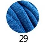 ไหมผ้ายืด (T-Shirt) เกรด A รหัสสี 29 สีน้ำเงินอมเขียว