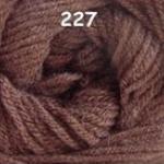ไหมพรมดาหลา สีพื้น สี 227