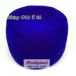 ไหม Shiny #18 รหัสสี 26 สีน้ำเงิน