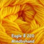 ไหมพรม Eagle กลุ่มใหญ่ สีพื้น รหัสสี 220