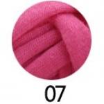 ไหมผ้ายืด (T-Shirt) รหัสสี 07 สีชมพูเข้ม
