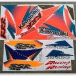 สติ๊กเกอร์ KR-R SSR ปี 97 รุ่น 3 ติดรถสีน้ำเงิน