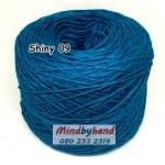 ไหม Cotton Shiny รหัสสี 09 สีฟ้าเข้ม (ฟ้าน้ำเงิน)