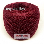 ไหม Shiny #18 รหัสสี 30 สีแดงมะเหมี่ยว