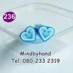 แท่ง Polymer Clay รูปหัวใจ ลาย 236