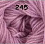 ไหมพรมดาหลา สีพื้น สี 245
