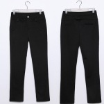 ♥พร้อมส่ง♥ กางเกงขายาวไซส์ใหญ่ สีกากี/สีดำ XL 2XL 3XL