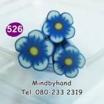 แท่ง Polymer Clay รูปดอกไม้ ลาย 526