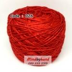 ไหมเบบี้ซิลค์ (ฺBaby Silk) รหัสสี 026 สีแดง (เชอรี่)