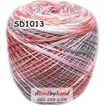 ไหมพรมเส้นอ้วน สีเหลือบ SD1013