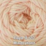 ไหมพรม Eagle 25 กรัม สีพื้น รหัสสี 120