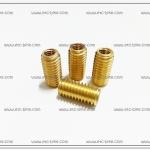 ทองเหลืองต๊าฟเกลียว 6mm. (4ตัว/ชุด)