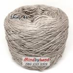 ไหม Cotton Shiny รหัสสี 46 สีเทาอ่อน