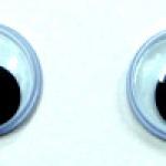 ลูกตาตุ๊กตาแบบกลิ้ง