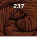 ไหมพรมดาหลา สีพื้น สี 237