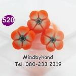 แท่ง Polymer Clay รูปดอกไม้ ลาย 520