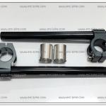 แฮนด์จับโช๊คมิเนียม งาน CNC ขนาด 31mm. สีดำ