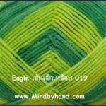 ไหมพรม Eagle สีเหลือบ รหัสสี 019