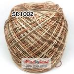 ไหมพรมเส้นอ้วน สีเหลือบ SD1002