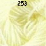 ไหมพรมดาหลา สีพื้น สี 253