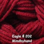 ไหมพรม Eagle กลุ่มใหญ่ สีพื้น รหัสสี 202