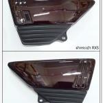 ฝากระเป๋า ซ้าย-ขวา RXS สีมังคุด
