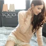 ♡♡Pre Order♡♡ เสื้อกันหนาว แขนยาว คอกลม เนื้อผ้า Mohair (ขนสัตว์เทียม) สวยน่ารัก สวมใส่สบาย