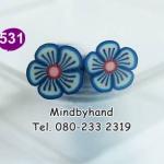 แท่ง Polymer Clay รูปดอกไม้ ลาย 531