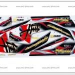 สติ๊กเกอร์ MSX-HAYABUSA ปี 2016 แดง
