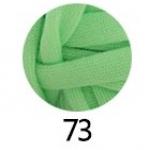 ไหมผ้ายืด (T-Shirt) เกรด A รหัสสี 73 สีเขียวอ่อน