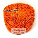 ไหมเบบี้ซิลค์ (ฺBaby Silk) รหัสสี 008 สีส้มสด