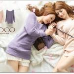 ♡♡Pre Order♡♡ เสื้อสเวตเตอร์ (Sweater) แขนยาว คอกว้าง ผ้าเนื้อนิ่มสวมใส่สบาย ถักเป็นรูปแมวน่ารักๆ