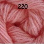 ไหมพรมดาหลา สีพื้น สี 220