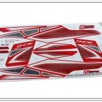 สติ๊กเกอร์ PCX150 ปี 2015 สีแดง