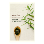 พร้อมส่ง INNISFREE IT'S REAL SQUEEZE MASK-TEA TREE 잇츠 리얼 스퀴즈 티트리 마스크 950 won