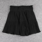 ++พร้อมส่ง++ กางเกงขาสั้นผ้าชีฟองไซส์ใหญ่ สีดำ (5XL)