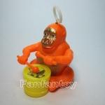 ลิงตีกลองไขลาน สีส้ม